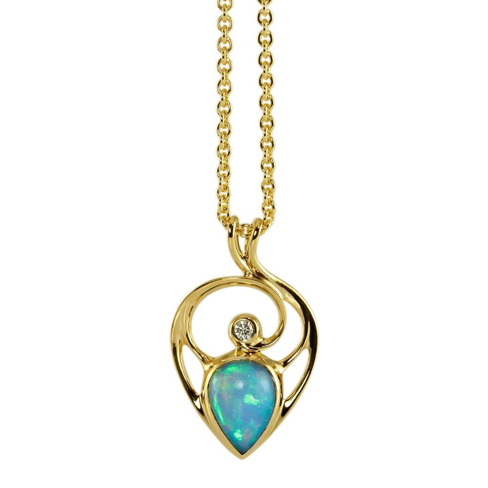4f5185b79e81e Håndlavede halskæder - Unikke smykker hos Castens - Ilyana ...