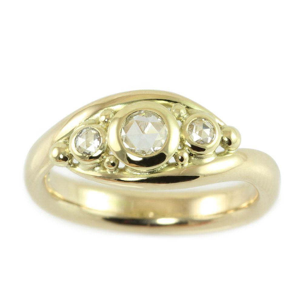 Smykkeserien Faun - Unikke smykker hos Castens - Gold ring with ...